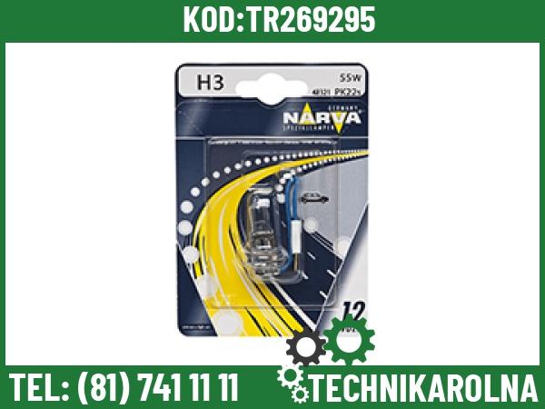 Żarówka 12V 55W H3