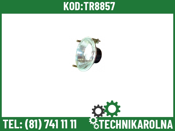 3308883M91 Lampa główna szkło wypukłe